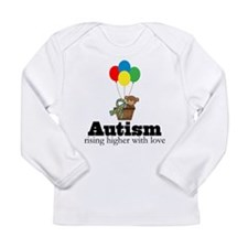 Teddy Bear Autism Quote Long Sleeve Infant T-Shirt
