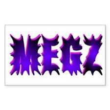 Megz Rectangle Decal