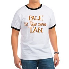 """Pale is the new tan"" T"