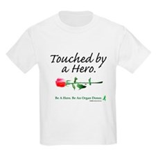 Touched by a Hero Kids T-Shirt