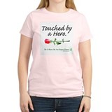 Touched by a Hero Women's Pink T-Shirt