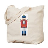 Nutcracker Soldier Tote Bag