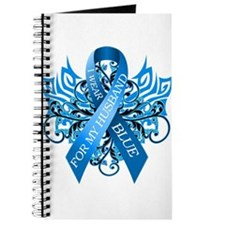 I Wear Blue for my Husband Journal