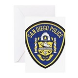 San Diego Police Greeting Cards (Pk of 10)