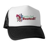 Santa Got Busted! Stuff Trucker Hat