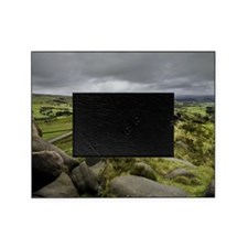 Overview of Pastures in Peak Distric Picture Frame