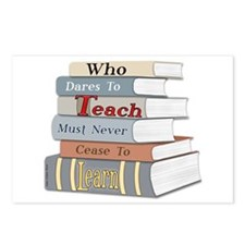 Teach... Learn Postcards (Package of 8)