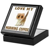 MORNING COFFEE Keepsake Box