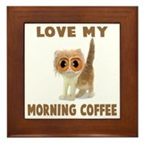 MORNING COFFEE Framed Tile
