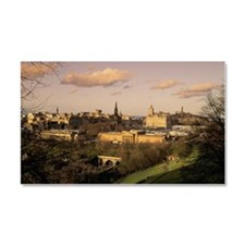 OVERVIEW OF EDINBURGH, SCOTLAND Car Magnet 20 x 12