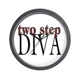Two Step Diva Wall Clock