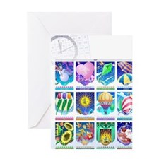 LiquidLibrary Greeting Card