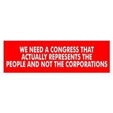 CONGRESS... Bumper Bumper Sticker