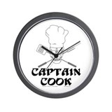 Captain Cook Wall Clock