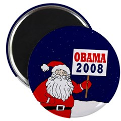"Santa for Obama 2008 2.25"" Magnet (100 pack)"