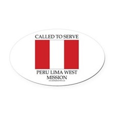 Peru Lima West Mission - Peru Flag - Called to Ser