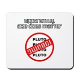 Cute Save pluto Mousepad