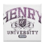 Henry Last name University Class of 2014 Tile Coas