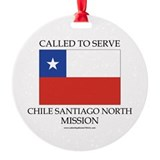 Chile Santiago North Mission - Chile Flag - Called