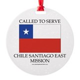 Chile Santiago East Mission - Chile Flag - Called