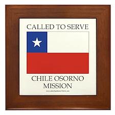 Chile Osorno Mission - Chile Flag - Called to Serv