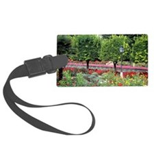 Colorful garden Luggage Tag
