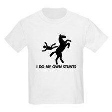 Rearing Horse 'Stunts' Kids T-Shirt