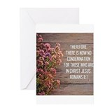 Romans 8:1 Greeting Cards (Pk of 10)