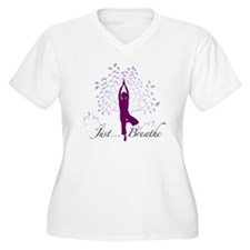 JustBreathe Plus Size T-Shirt