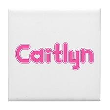 """""""Caitlyn"""" Tile Coaster"""