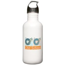 Old Shcool Turntables Water Bottle