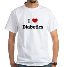I Love Diabetics Shirt