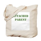 Attached Parent Khaki Tote Bag