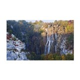 Lower Falls and Veliki Slap, Plit Wall Decal
