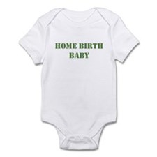 Home Birth Baby Khaki Infant Bodysuit
