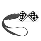 Checkered flag Luggage Tags