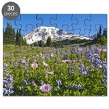 Wildflower meadow, Mount Rainier National P Puzzle