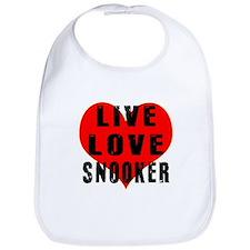 Live Love Snooker Bib