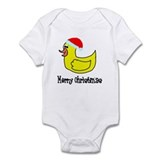 Senor Christmas Duckie Onesie