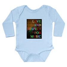 KuuMa Guitar Love 09 Long Sleeve Infant Bodysuit