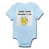 Funny  daddy Infant Bodysuit