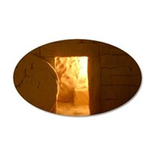 Empty tomb Wall Decal