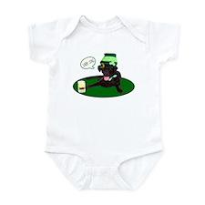 Black Lab Last Call Infant Bodysuit