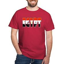 Word Art Flag of Egypt T-Shirt