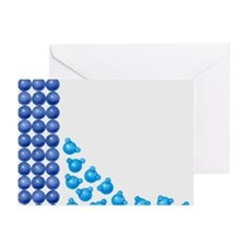 Water molecules being li Greeting Cards (Pk of 20)