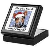 Red Heeler Do you Herd? Keepsake Box