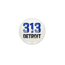 313 Mini Button (10 pack)