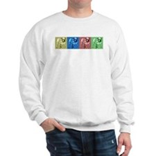 4 Tone Row Design Sweatshirt