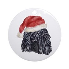 Christmas Puli Ornament (Round)