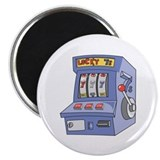 "Slot Machine 2.25"" Magnet (100 pack)"